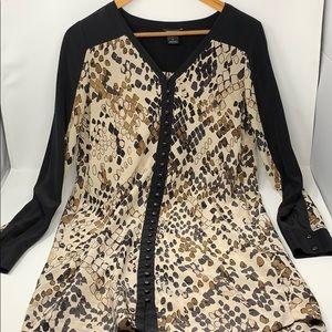 Club Monaco silk tunic